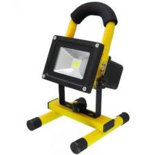 Hordozható akkumulátoros LED reflektor, 10 W kültéri világítás