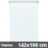 Hőszigetelő roló, Thermo, fehér, ablakra: 142x180 cm