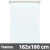 Hőszigetelő roló, Thermo, fehér, ablakra: 162x180 cm