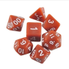 Hot Games Dobókocka szett - teli barna (7 darabos) - /EV/