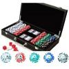 Hot Games Texas Hold'em Deluxe póker szett (300 db-os) - /EV/