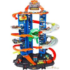 Hot Wheels T-rex Ultimate garázs autópálya és játékautó
