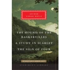 Hound of the Baskervilles, A Study in Scarlet, The Sign of Four – Sir Arthur Conan Doyle idegen nyelvű könyv