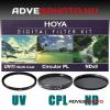 Hoya Digital Filter Kit UV,CPL,ND 46mm szűrőkkel