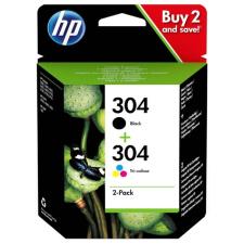 HP 3JB05AE No.304 fekete+színes eredeti tintapatron multipack nyomtatópatron & toner