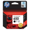 HP 650 eredeti fekete tintapatron