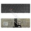 HP 652682-211 gyári új, fekete-szürke laptop billentyűzet