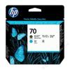 HP C9404A Tintapatron fej DesignJet Z2100 nyomtatóhoz, HP 70 kék, matt fekete (TJHC9404A)
