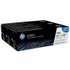 HP CF373AM Lézertoner multipack ColorLaserJet CM1300, CP1210 nyomtatóhoz, 125A c+m+y,3*1,4k