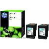HP D8J45AE Patron 2 pack Bk No.301XL