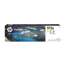 HP F6T83AE Tintapatron, PageWide Pro 452, 477, Managed P57750, P55250 nyomtatókhoz, HP 973X, sárga, 7k nyomtatópatron & toner