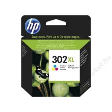 HP F6U67AE Tintapatron DeskJet 2130 nyomtatókhoz, HP 302XL színes, 8ml (TJHF6U67A) nyomtatópatron & toner