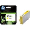 HP patron No. 920XL (sárga)