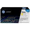 HP Q6002A Lézertoner ColorLaserJet 2600, 2600N, 2605 nyomtatókhoz, HP 124A sárga, 2k