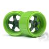 HPI Felni zöld Work Meister S1 a Micro RS4-hez (4 db)
