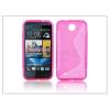 HTC HTC Desire 300 szilikon hátlap - S-Line - pink