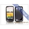 HTC HTC Desire X szilikon hátlap - S-Line - fekete