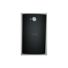 HTC One Dual Sim hátlap (akkufedél) fekete* mobiltelefon előlap