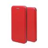 Huawei Forcell Elegance Huawei Y5 (2018) oldalra nyíló mágneses könyv tok szilikon belsővel piros