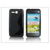 Huawei Huawei Ascend Y320 szilikon hátlap - S-Line - fekete