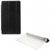Huawei Mediapad M3 8.4, mappa tok, Trifold, selyem hatás, fekete