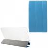 Huawei Mediapad M3 8.4, mappa tok, Trifold, selyem hatás, kék
