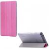 Huawei Mediapad T3 7.0, mappa tok, Trifold, átlátszó hátlap, rózsaszín