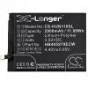 Huawei Nova, Akkumulátor, 2900 mAh, Li-Polymer, HB405979ECW kompatibilis