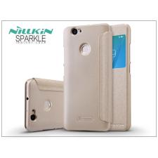 Huawei Nova oldalra nyíló flipes tok - Nillkin Sparkle - gold tok és táska