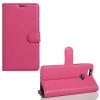 Huawei Nova, Oldalra nyíló tok, stand, rózsaszín