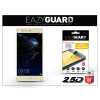 Huawei P10 Lite gyémántüveg képernyővédő fólia - Diamond Glass 2.5D Fullcover - gold