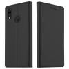 Huawei P20 Lite book cover (fekete)