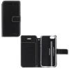 Huawei P8 Lite (2017) / P9 Lite (2017), Oldalra nyíló tok, stand, Molan Cano, fekete