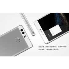 Huawei P9 hátlap - IMAK Crystal Clear Slim - transparent tok és táska
