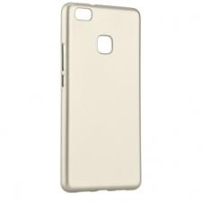 Huawei P9 Lite, TPU szilikon tok, Jelly Flash Mat, arany tok és táska