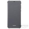 Huawei P Smart, gyári flip tok, fekete