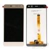 Huawei Y6 (2017) kompatibilis LCD modul kerettel, OEM jellegű, arany