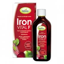 Hübner Iron Vital F szirup vitamin