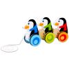 Húzható pingvinek fajáték