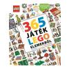 HVG Könyvek Simon Hugo: 365 játék LEGO elemekből - Ügyességi, logikai és társasjátékok