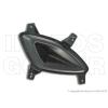 Hyundai i10 2008.05.01-2013.10.31 Ködlámpa borítás jobb fekete OE (10.09-) (03DX)