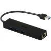 I-TEC USB 3.0 Slim HUB 3 Port + Gigabit Ethernet Adapter (U3GL3SLIM)