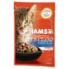 IAMS Cat Delights Tengeri Hal És Zöldbab Szózsban 85gr