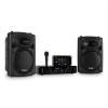 Ibiza DJ300MK2 diszkó hangrendszer, AUX, MIC
