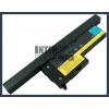 IBM ThinkPad X60s 2533 4400 mAh 8 cella fekete notebook/laptop akku/akkumulátor utángyártott
