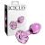 Icicles Icicles - virágos üveg anál kúp (pink)