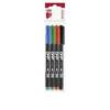 ICO Alkoholos marker készlet, OHP, 0,3 mm, S, ICO, 4 különböző szín [4 db]