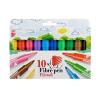 """ICO Filctoll készlet, 1-3 mm,  """"Süni"""", 10 különböző szín"""