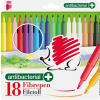 """ICO Filctoll készlet, 1 mm, antibakteriális, ICO """"Süni 300"""", 18 különböző szín"""