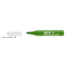 """ICO Flipchart marker, 1-3 mm, kúpos, ICO """"Artip 11"""", zöld filctoll, marker"""